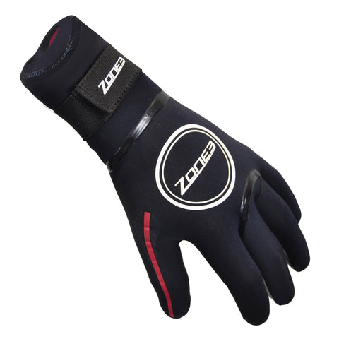 Ladies Cycling Gloves with Mesh Panel in Cardinal