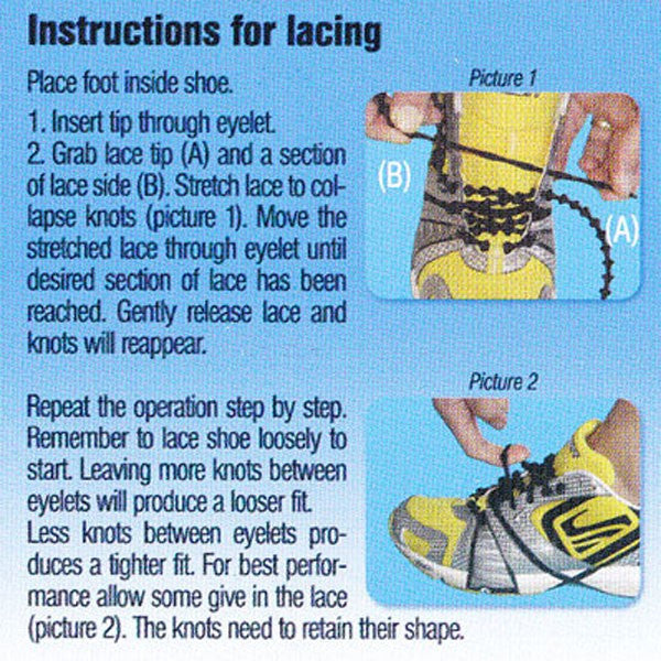 Elastic Shoe Laces for Triathlon