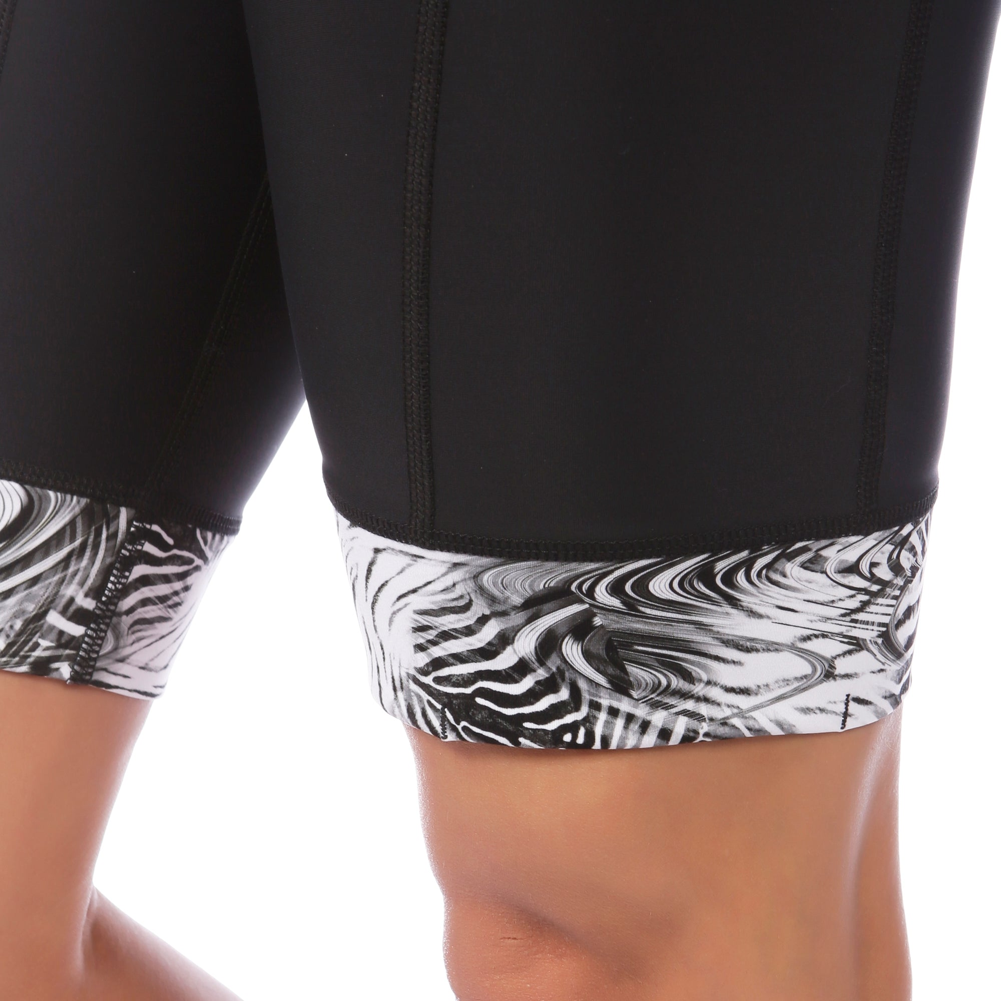 Ritzy Trisuit with/ without Support Bra in Hidden Zebra