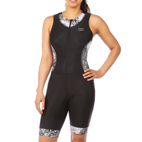 Wave & Champion Swimsuit and Tri Shorts Set