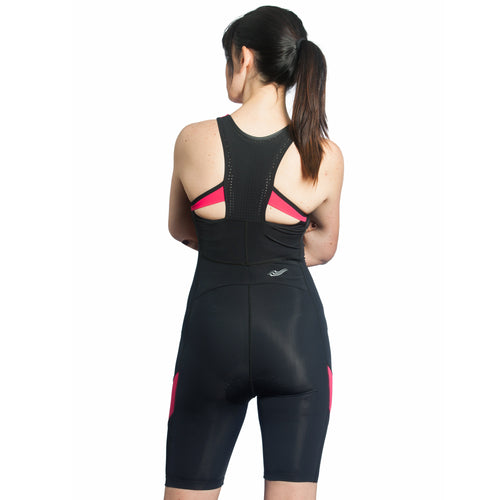 Spice Trisuit with Support Crop in Paloma Pink - SALE 25% OFF