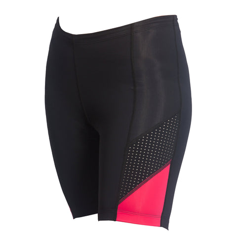 Victor Triathlon Shorts in Print Red Wave