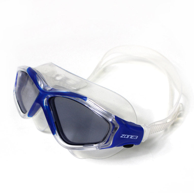 Vision Max Triathlon Swim Mask, Blue