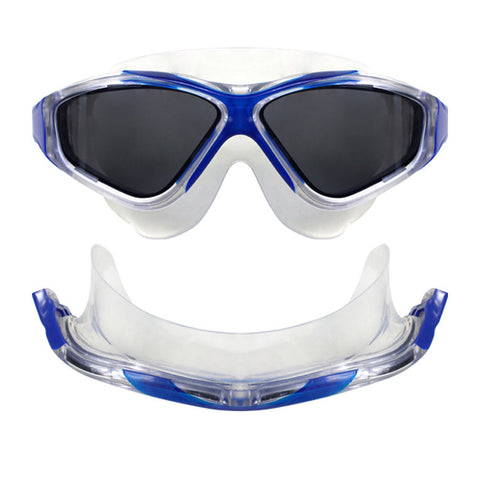Vapour Polarized Goggles in Silver/ White