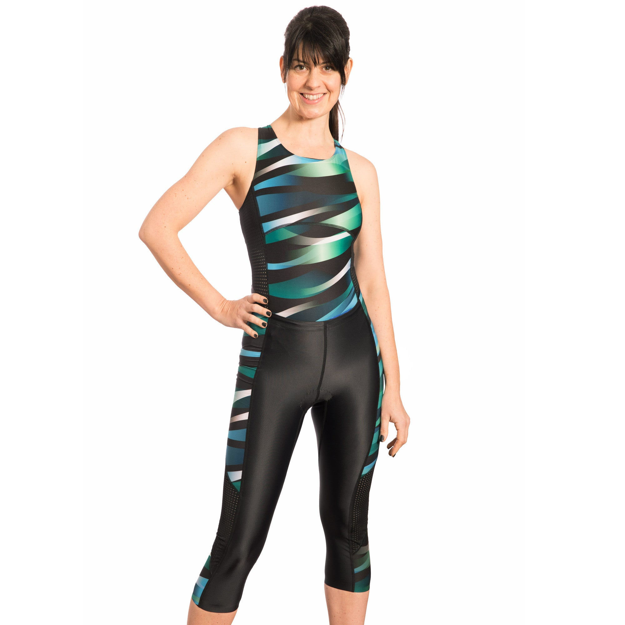 Wave & Pace Swimsuit and Capri Tri Set - SALE 25% OFF