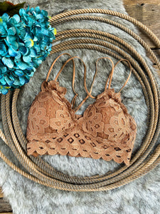 The Stella Bralette {Ginger}
