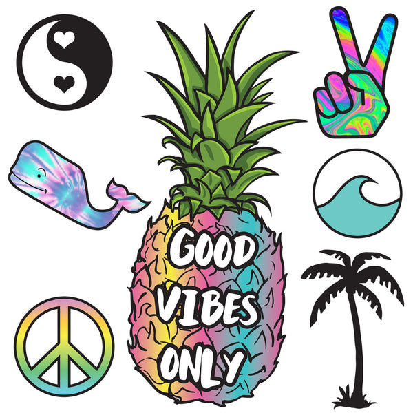 Good Vibes XL Decal Pack