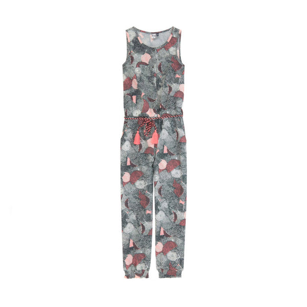 girls jumpsuit with allover print