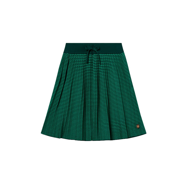 Sara Pleated Knit Skirt