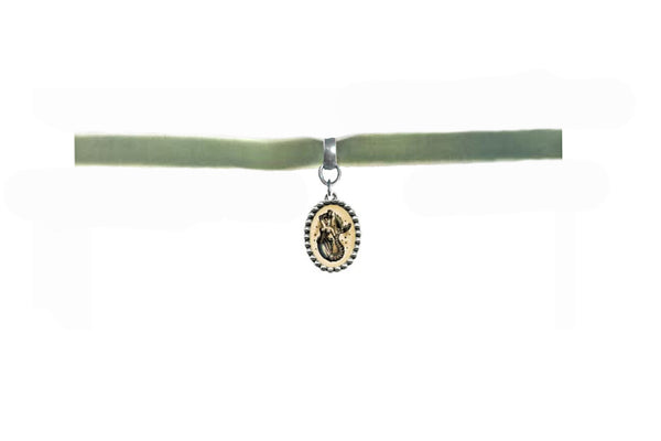 olive mermaid choker