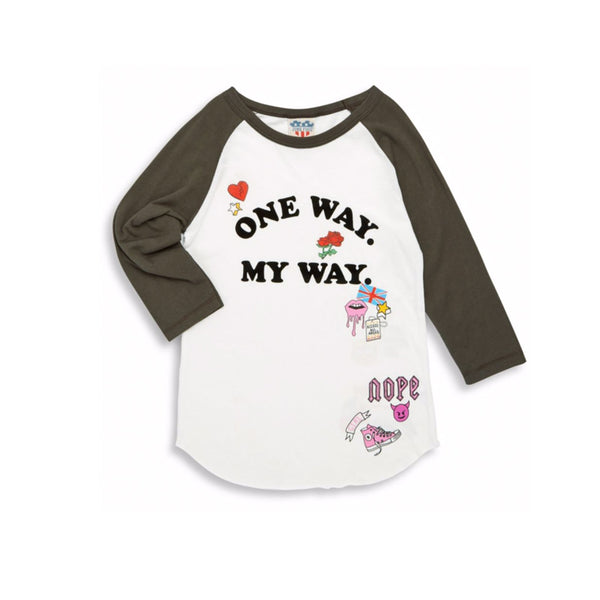 One Way My Way Tee