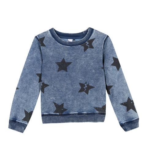 Violet Star Sweatshirt