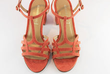 Load image into Gallery viewer, Coral Suede Sandal