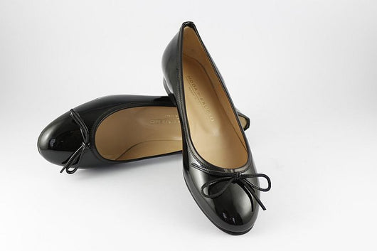 Black Patent Ballet Pump