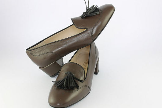 Soft Brown Loafer With Tassels