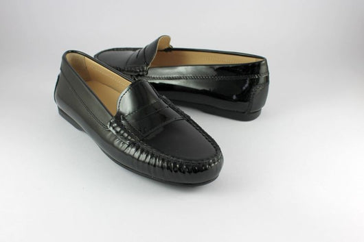 Black Patent Penny Loafer