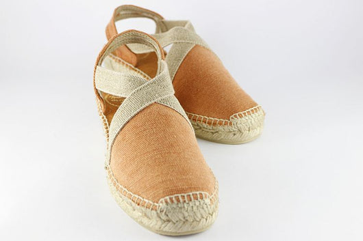 Dusky Orange Low Espadrille
