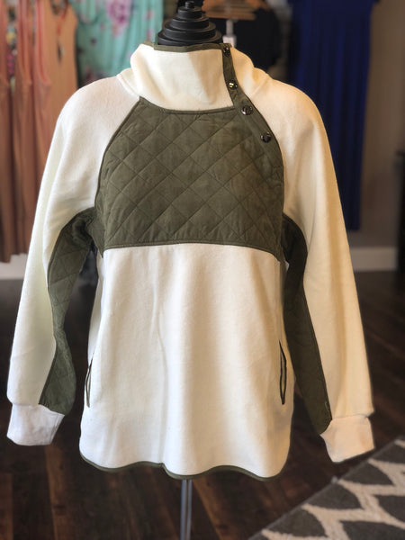 FLEECE PULLOVER - Georgie St. Boutique