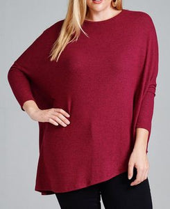 SLANT SWEATER - Georgie St. Boutique