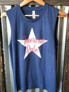 AMERICAN BABE TANK TOP - Georgie St. Boutique