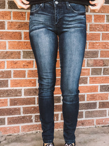 DARK WASH SKINNY JEANS - Georgie St. Boutique