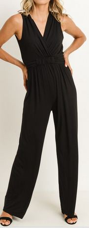 BLACK JUMPSUIT - Georgie St. Boutique