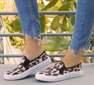 LEOPARD SNEAKERS - Georgie St. Boutique