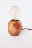 Concrete Copper Lamp