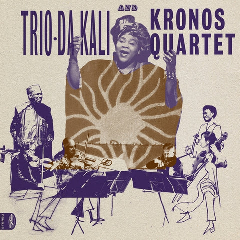 Trio-Da Kali And Kronos Quartet - Ladilikan