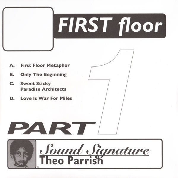 Theo Parrish - First Floor Part 1 (2017 Re-Issue)