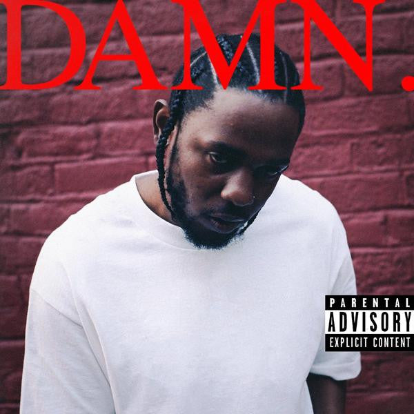 Kendrick Lamar - Damn [Damaged Sleeve]