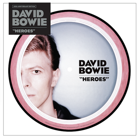 "David Bowie - Heroes (40th Anniversary 7"" Picture Disc)"