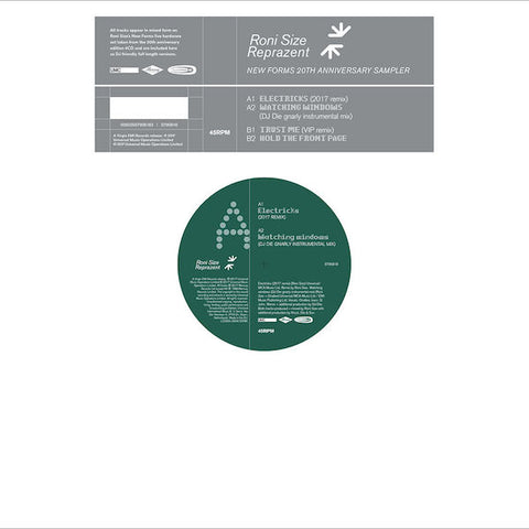 Roni Size / Reprazent - New Forms Sampler