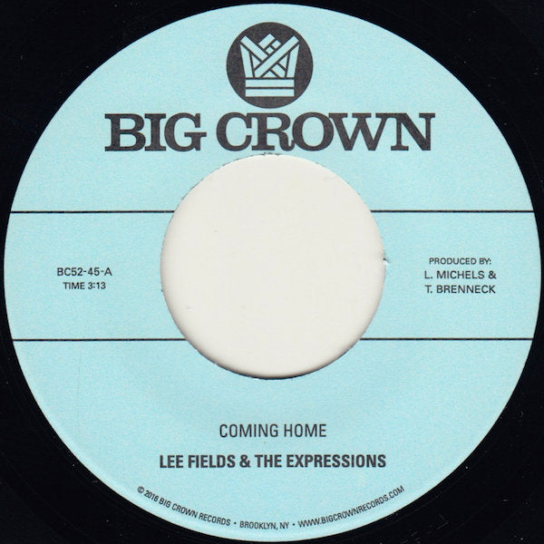Lee Fields & The Expressions - Coming Home 7""