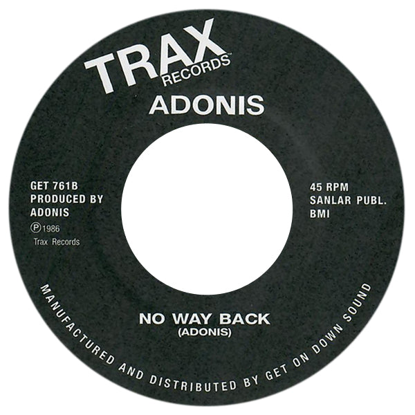 Adonis - No Way Back