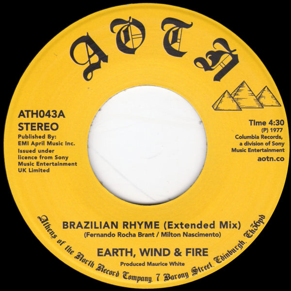 Earth, Wind & Fire - Brazilian Rhyme (Extended Mix)