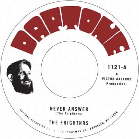 The Frightnrs - Never Answer / Questions (Dub) 7""
