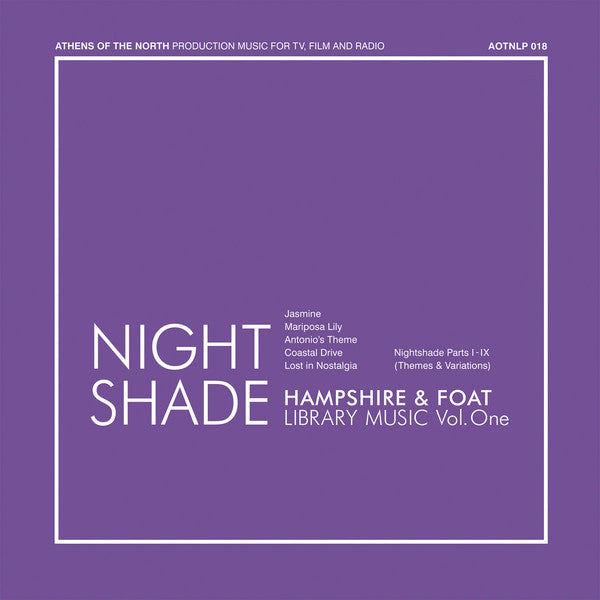 Hampshire & Foat - Nightshade