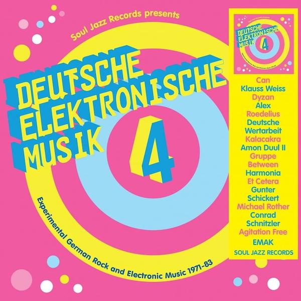 Various Artists - Soul Jazz Records Presents Deutsche Elektronische Musik 4: Experimental German Rock and Electronic Music 1971-83