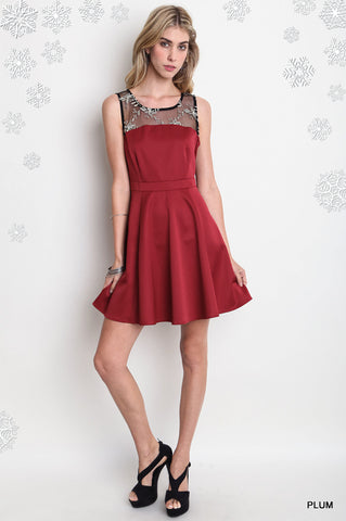 womens christmas holiday red dress