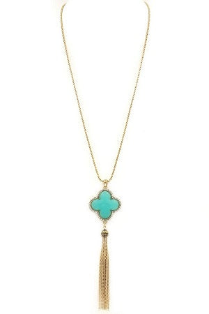 womens mint pendant necklace accessories