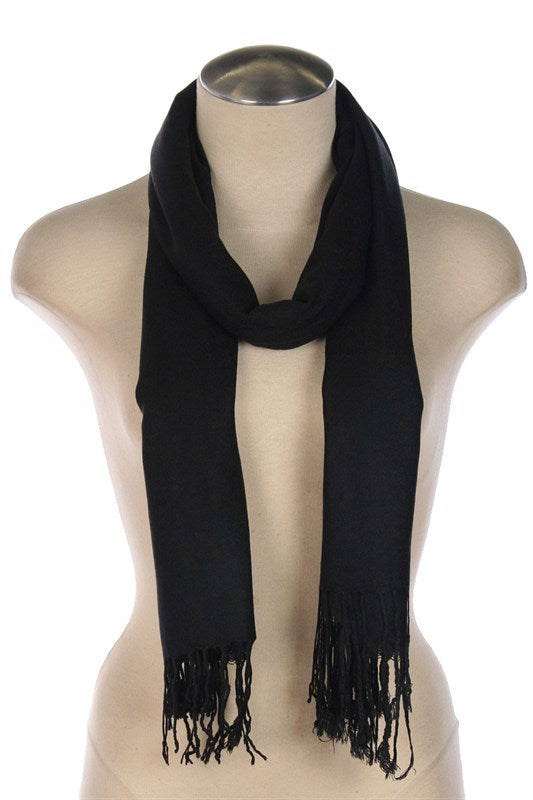 womens black scarf accessory