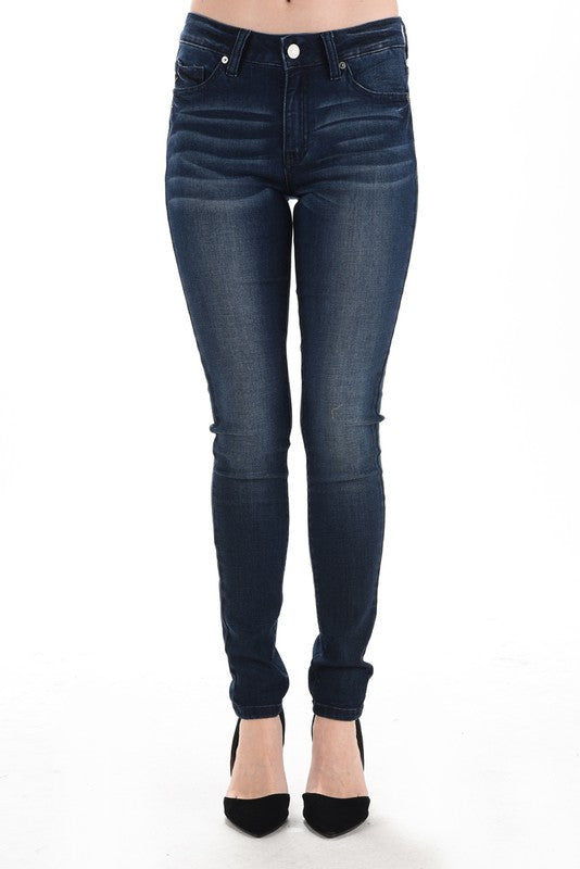 womens dark wash jeans