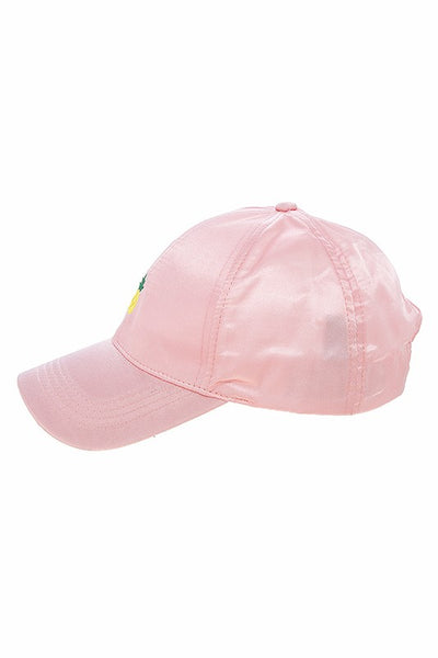 womens pink pineapple hat
