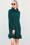 womens hunter green dress