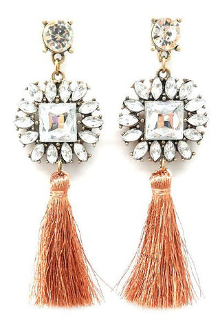 Anse Etoile Tassel Earrings
