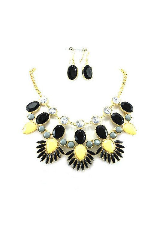 Tenerife Statement Necklace
