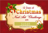 12 Days of Christmas Nail Art Challenge