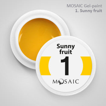 MOSAIC Gel-Paint 01 SUNNY FRUIT