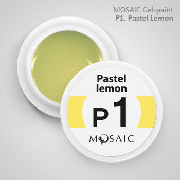 MOSAIC Gel-Paint P1 PASTEL LEMON